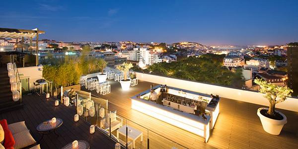 Lisbon City Guide Nightlife In Lisbon Sky Bar Tivoli Rooftop